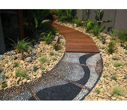Советы дизайна садовых дорожек, тропинок