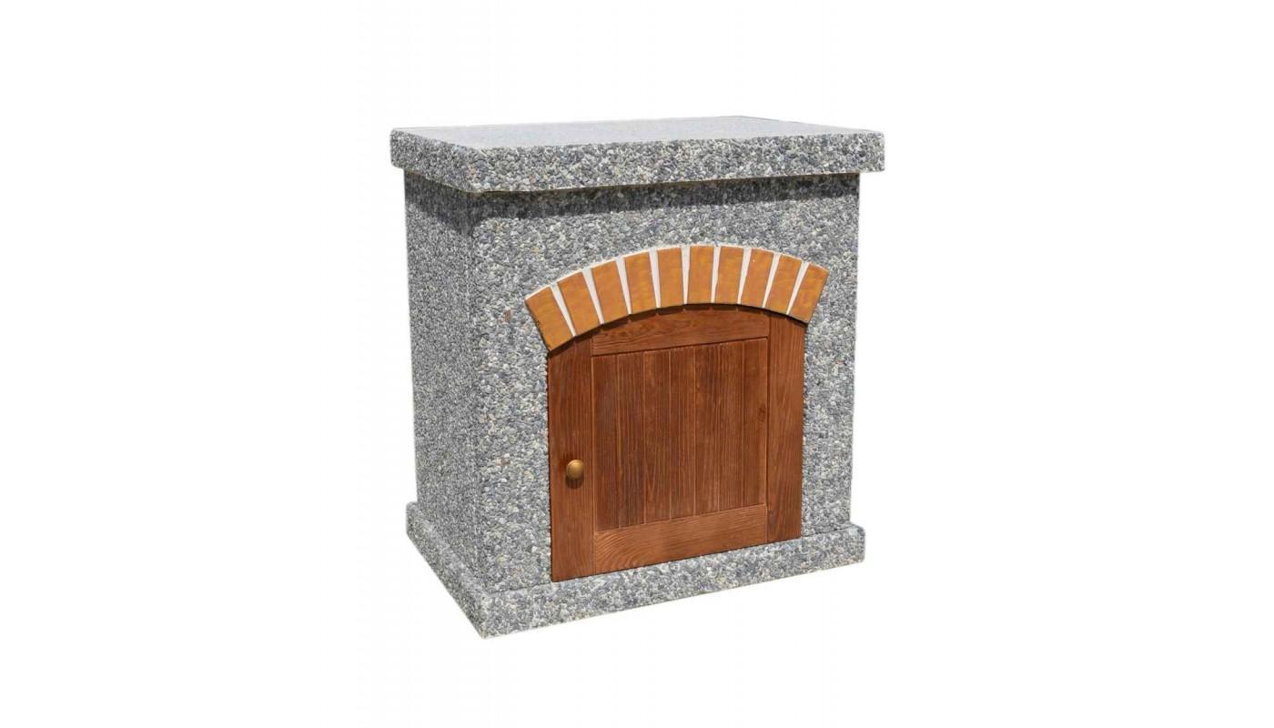 Стол ТИТАН с фасадными дверцами