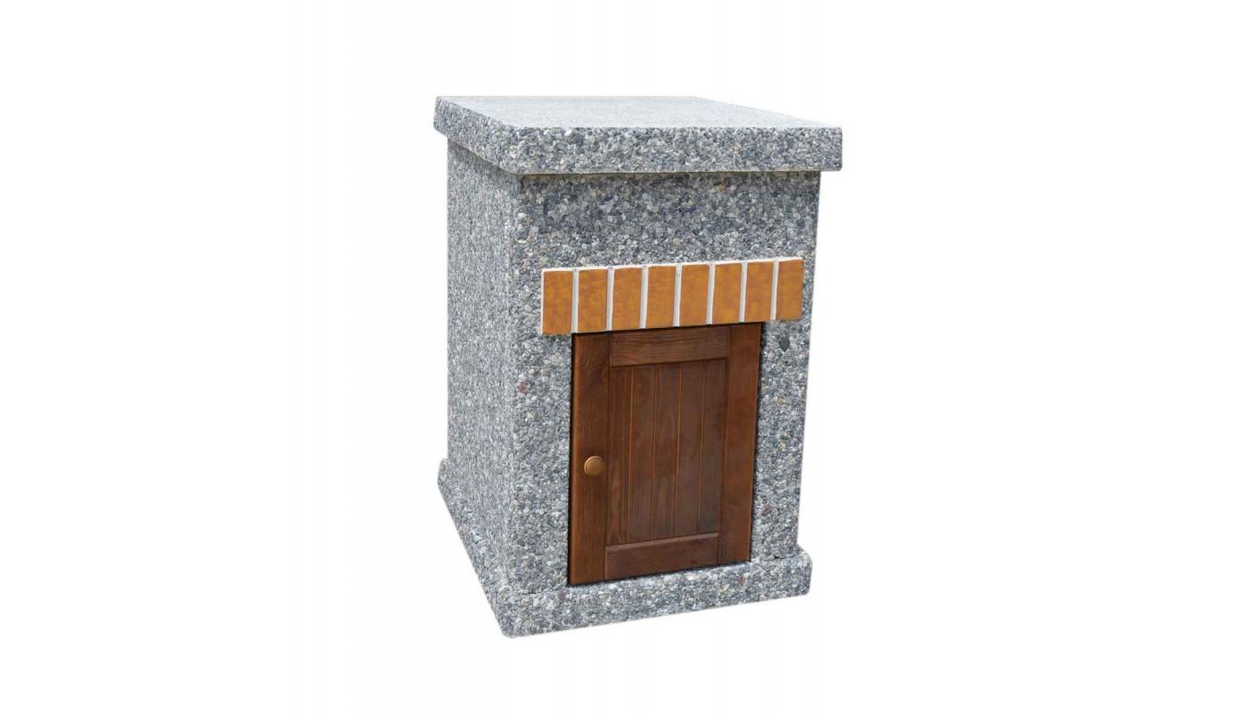Стол Манчестер  Литл с фасадными дверцами