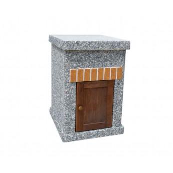 Стол ТИТАН  Литл с фасадными дверцами