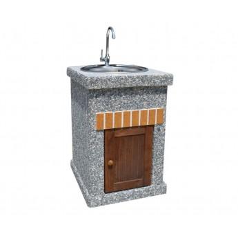 Стол-мойка ТИТАН Литл с фасадными дверцами