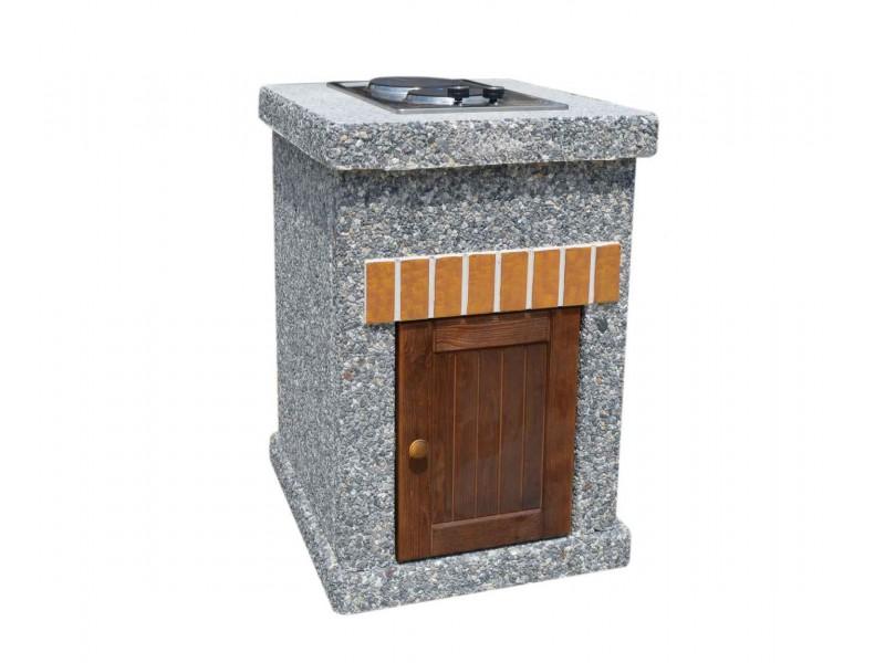 Стол - плита ТИТАН Литл с фасадными дверцами купить