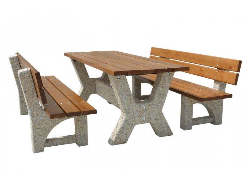 """Стол  """"Гарден со скамейками"""" купить"""