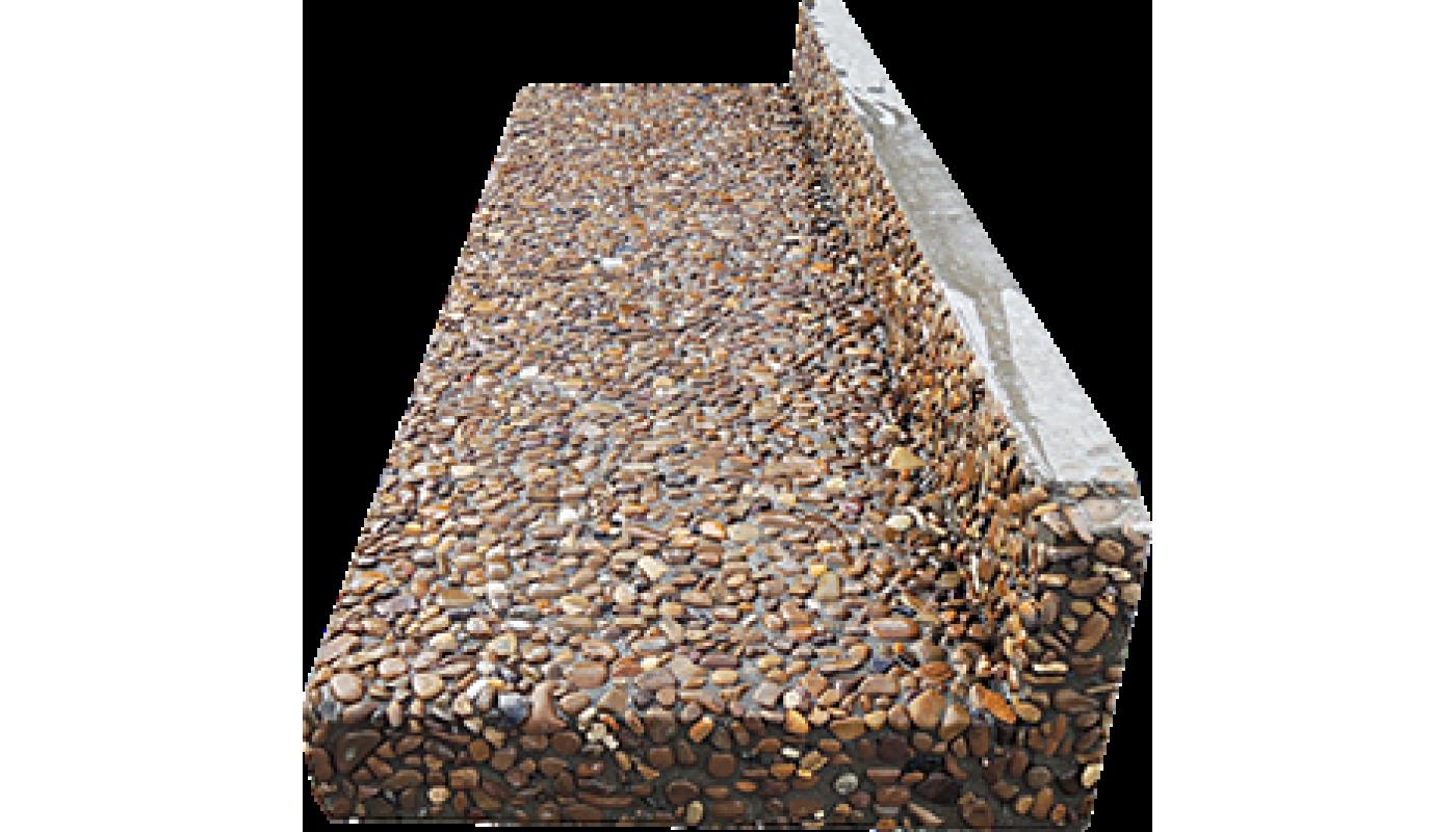 Ступенька для бетонного основания